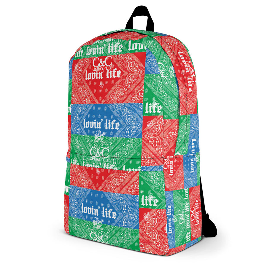 Blue and Red make green $$$$$ Laptop/Backpack