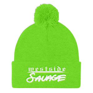 Westside SAVAGE w Pom Pom Knit Cap