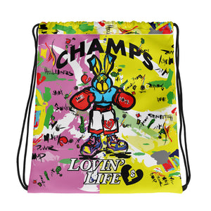 LOVIN' LIFE - PUNCH OUT - HAVE HEART MONEY COLLECTION - Drawstring bag