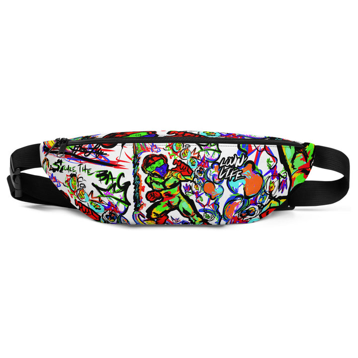 LOVIN' LIFE -BAG RUN 3 - SPACE COLLECTION - Fanny Pack - wht