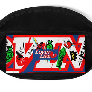 LOVIN' LIFE - BOUNCE BAC - HAVE HEART MONEY COLLECTION - Fanny Pack
