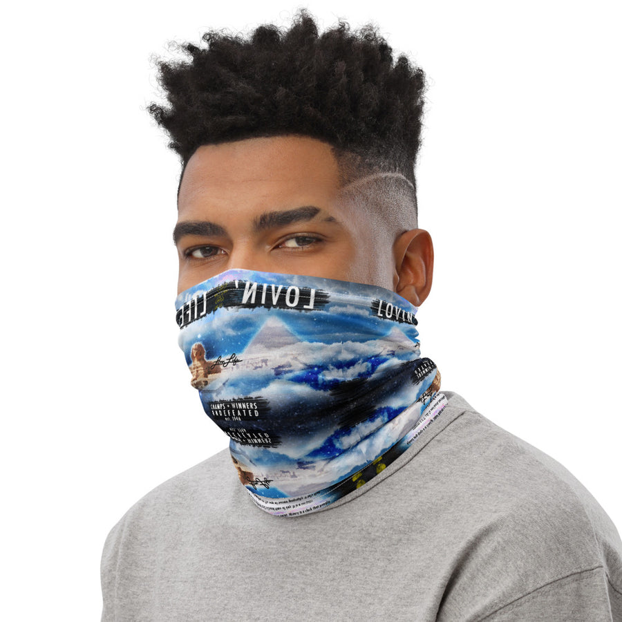 LOVIN' LIFE MEMBERS ONLY - ROYALTY Neck Gaiter