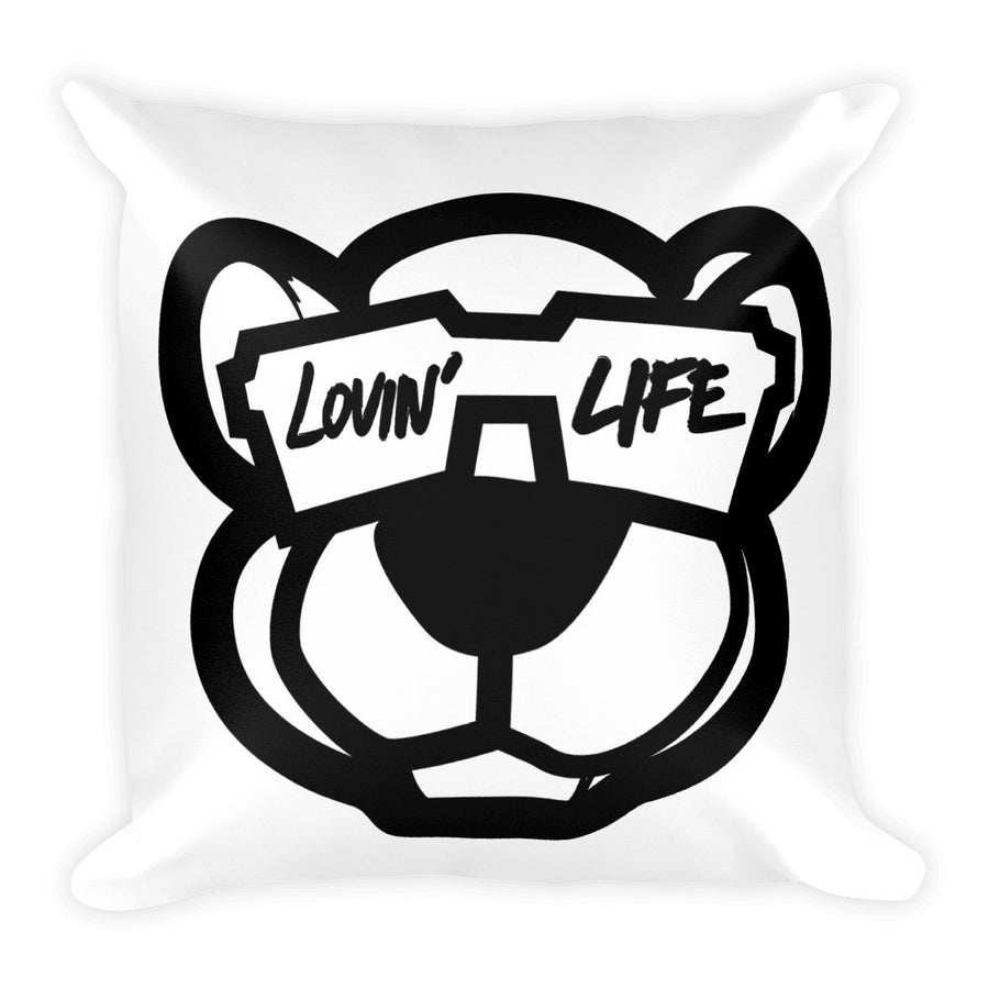 Leo Lion cool b Square Pillow 18x18