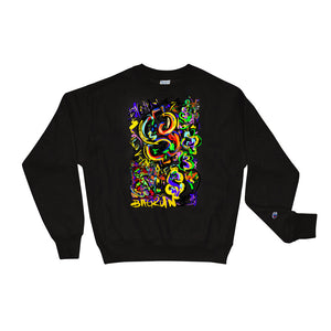 LOVIN' LIFE X CHAMPION -BAG RUN 2 - SPACE COLLECTION Sweatshirt