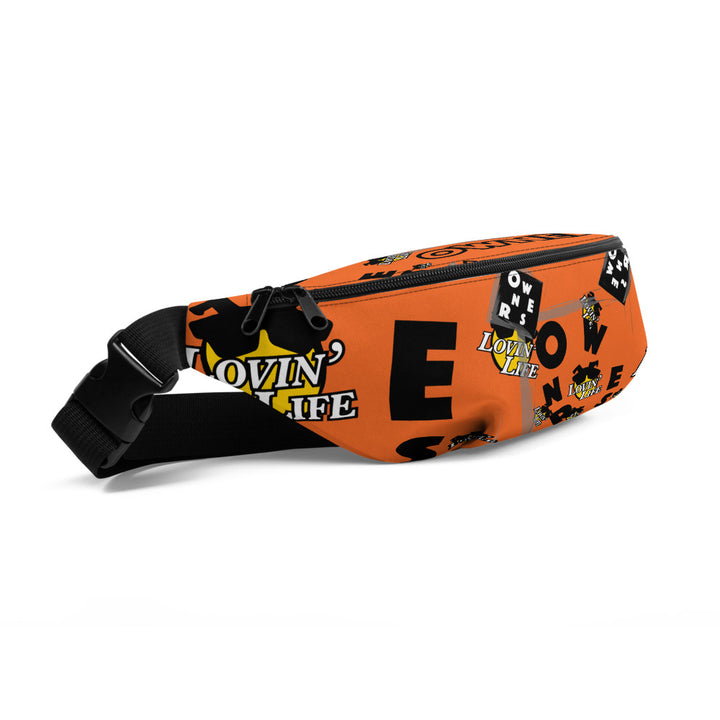 LOVIN' LIFE X OWNERS - OWN IT - OWNERSHIP IS POWER COLLECTION - Fanny Pack - orange