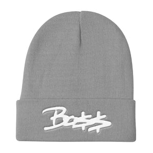 Boss 3D-Puff embroidered Beanies