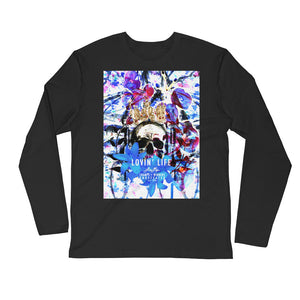 LOVIN' LIFE MEMBERS ONLY - DIVINITY CRES BLU Long Sleeve