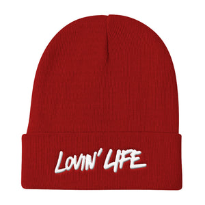 LL blac 3D-Puff embroidered Beanie