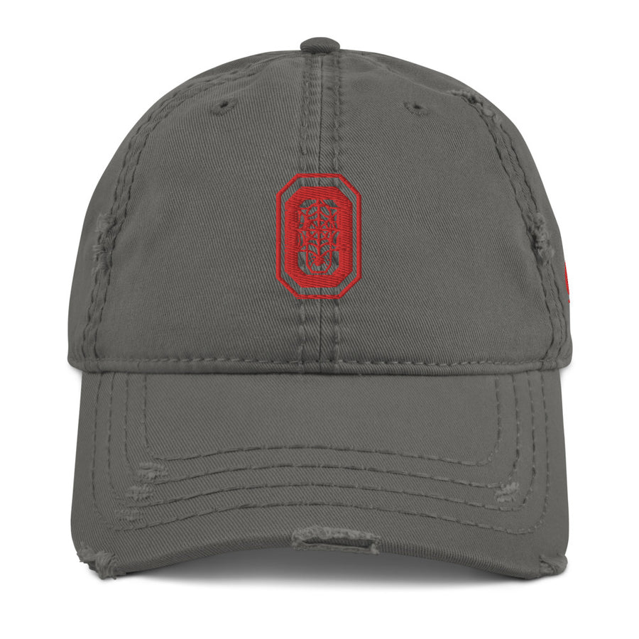 LOVIN' LIFE X OWNERS - OWNERS MINDSET - OWNERSHIP IS POWER COLLECTION - Distressed Dad Hat