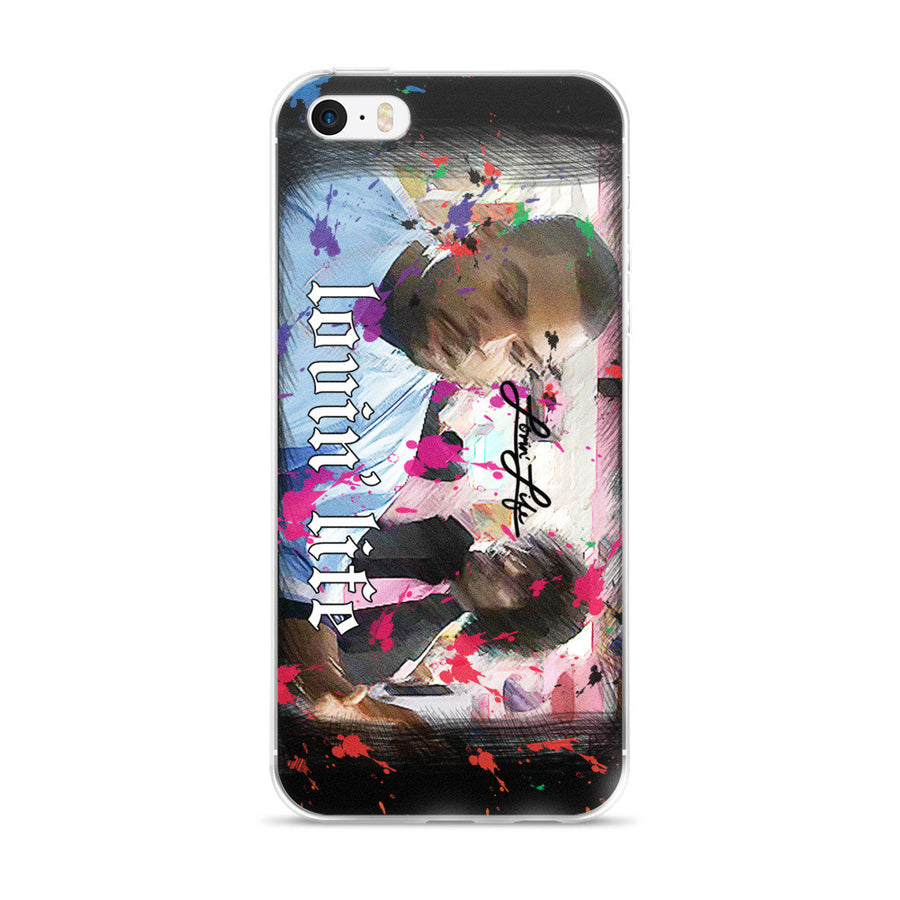 Lovin' Life pinky iPhone 5/5s/Se, 6/6s, 6/6s Plus Case