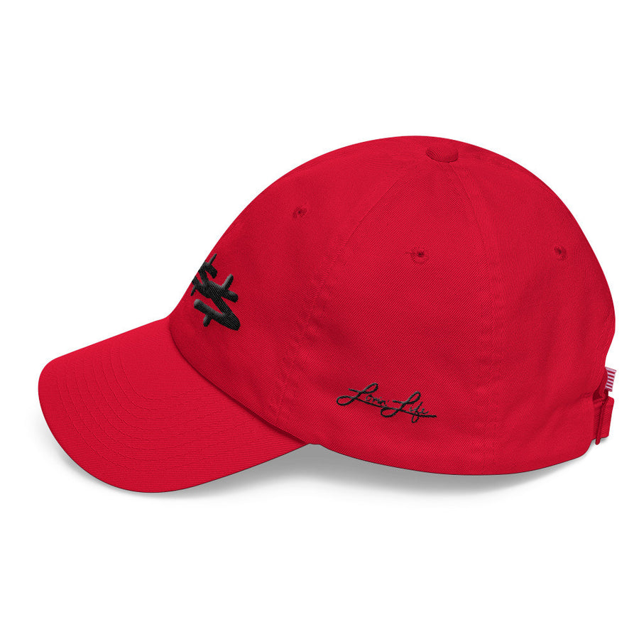 Boss blac 3D-Puff embroidered DAD hat