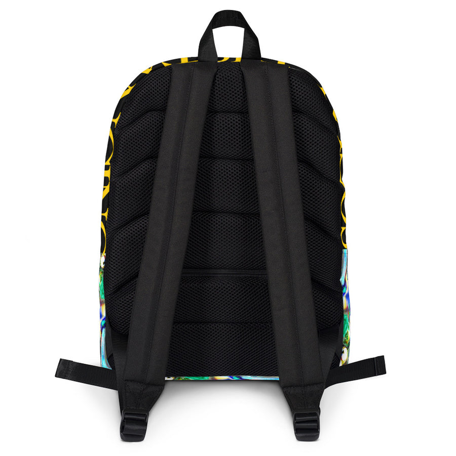 SOCIAL DISTANCING - Collection Laptop Backpack by Cash&Control