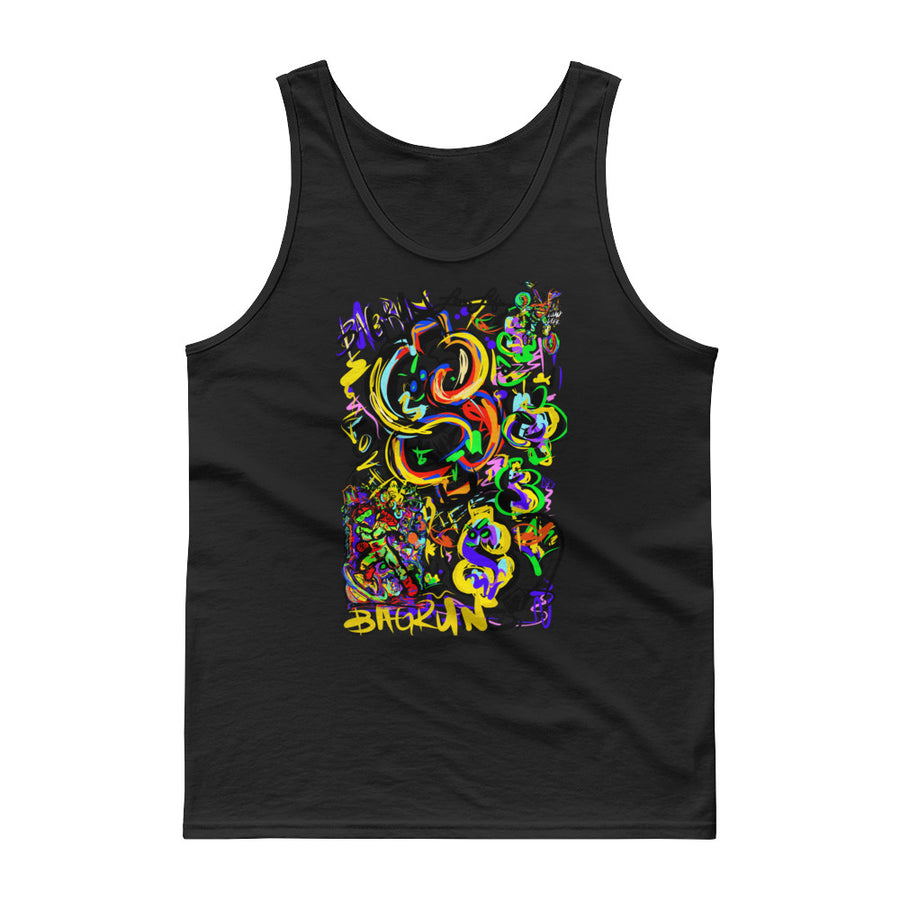 LOVIN' LIFE - BAG RUN 2 - SPACE COLLECTION - Tank top