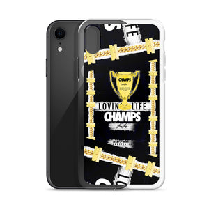 LOVIN' LIFE MEMBERS ONLY - CHAMPS RAZORS & CUBAN LINXS 00 - iPhone Case