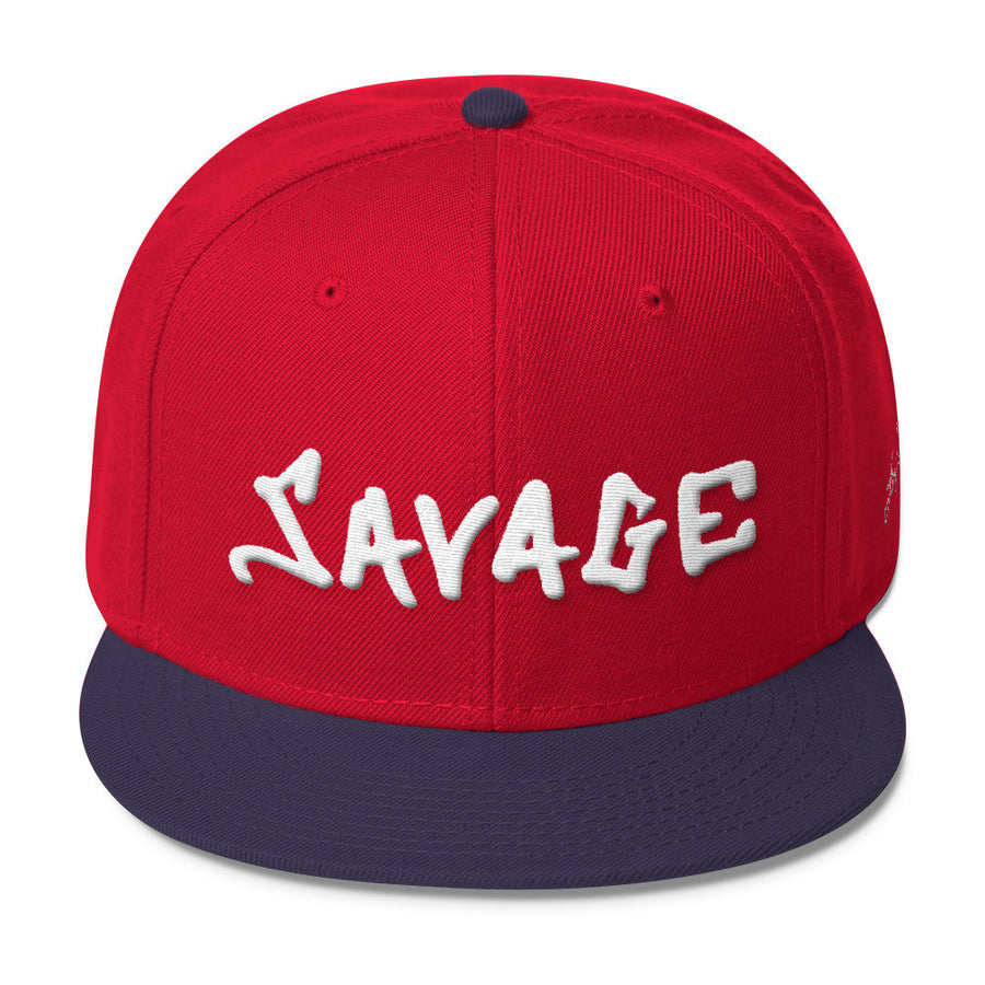 Savage 3D-Puff embroidered Snapback