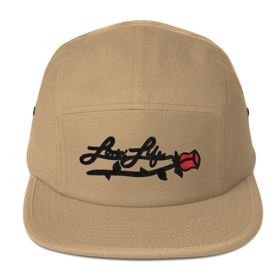 Lovin' Life Rosey red Five Panel Cap