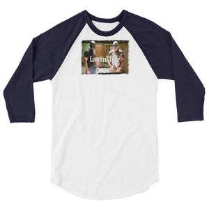 Lovin' Life savages 3/4 sleeve raglan shirt