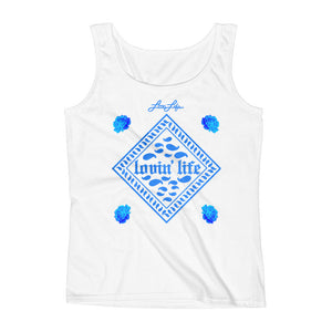 Ladies' Rosey Blue Tank