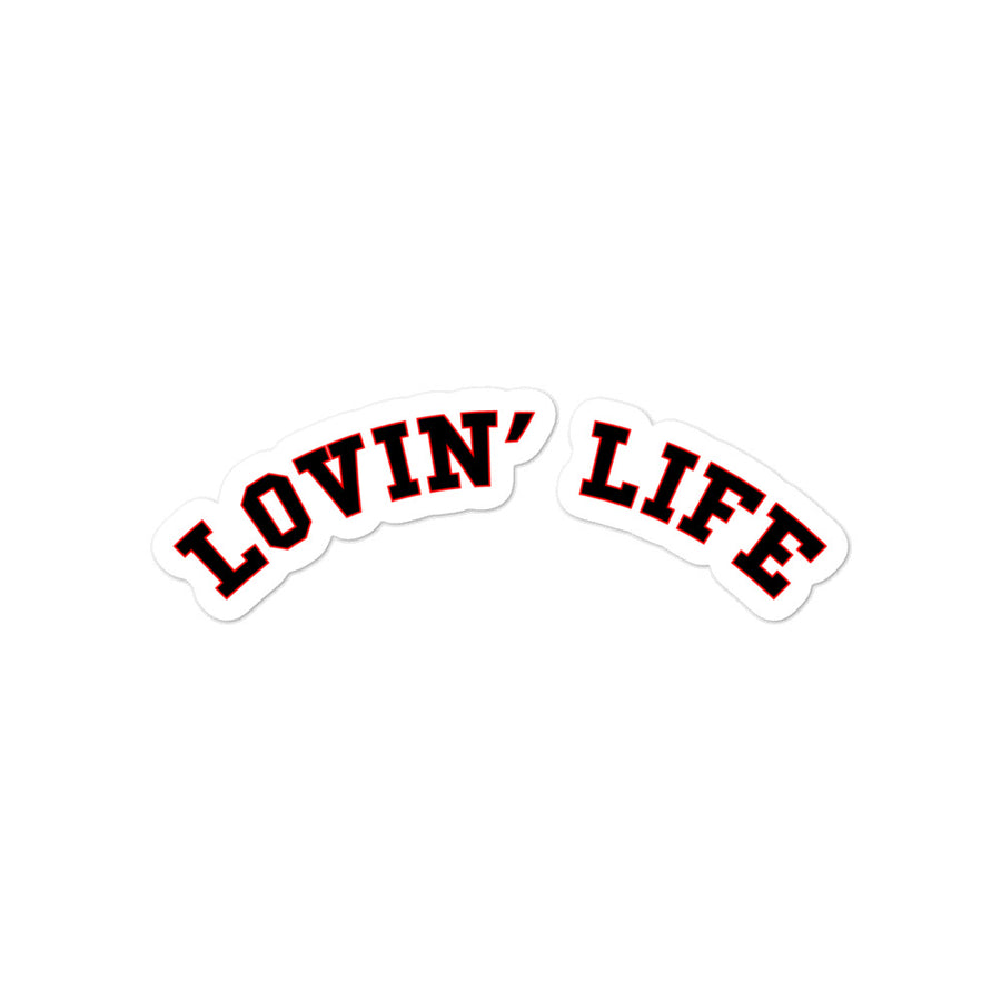 LOVIN' LIFE - LL college stickers