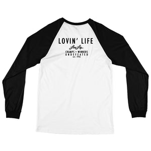 LOVIN' LIFE MEMBERS ONLY - DYNASTY Long Sleeve Baseball T-Shirt