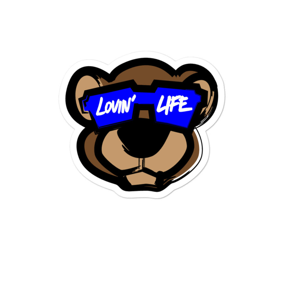 LOVIN' LIFE - LEO LION CUB stickers