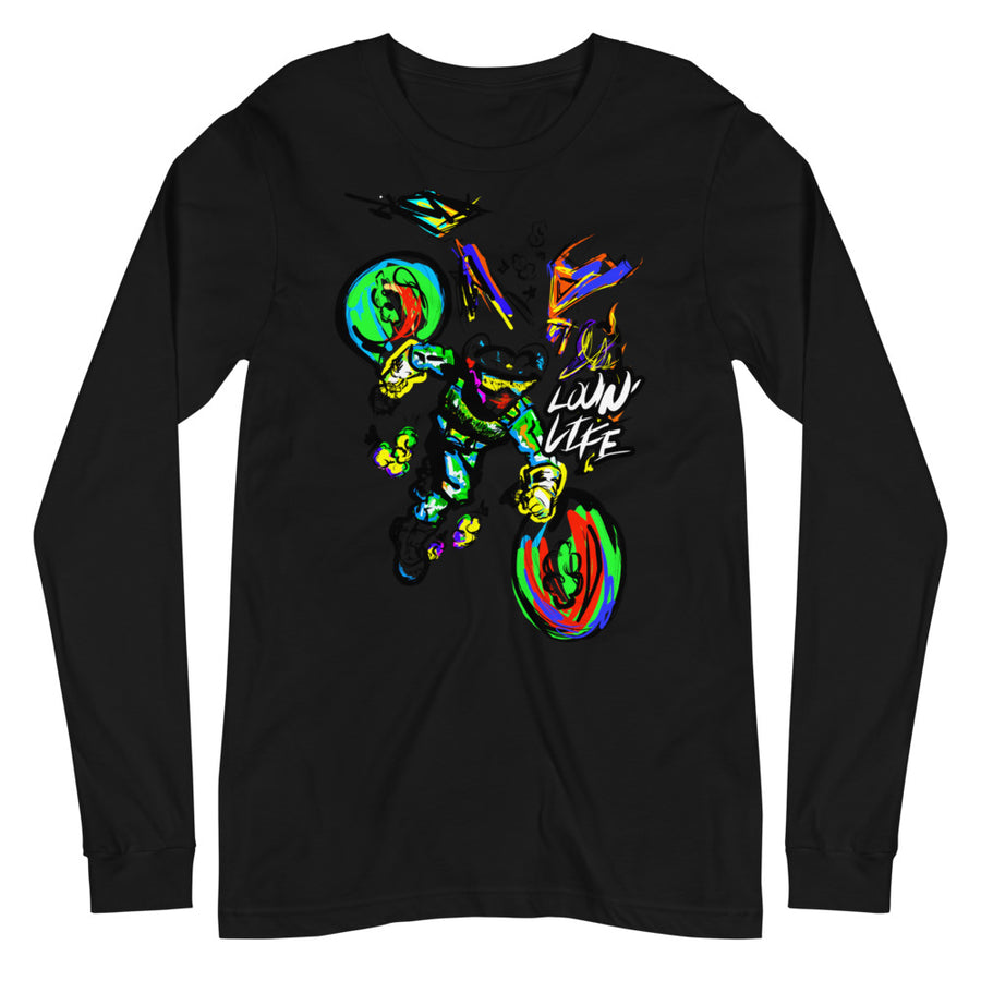 LOVIN' LIFE -BAG RUN - SPACE COLLECTION Long Sleeve