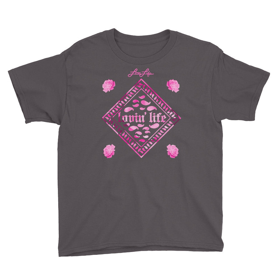 Youth Rosey Pink T-Shirt