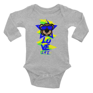 Leo Lion 1 Infant long sleeve one-piece