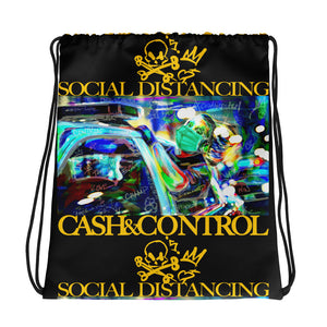 SOCIAL DISTANCING - Collection Drawstring bag