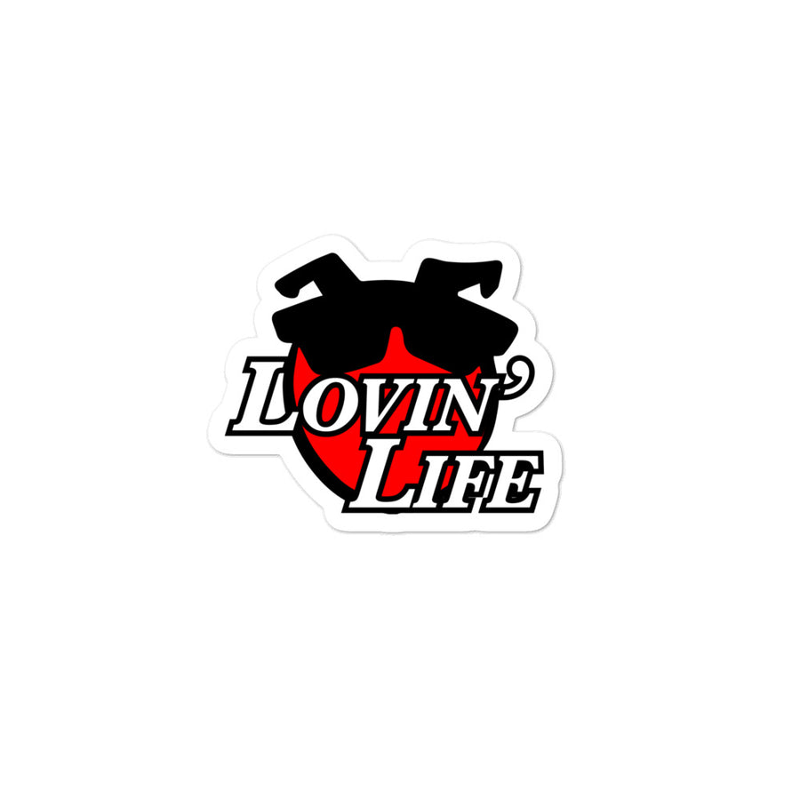 LOVIN' LIFE - ALL SMILES stickers