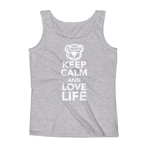 Ladies' Keep calm and love life Tank