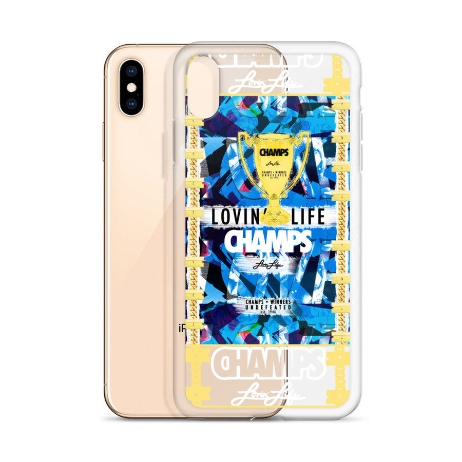 Lovin' Life CHAMPS MEMBERS ONLY - CHAMPS RAZORS & CUBAN LINXS - iPhone Case