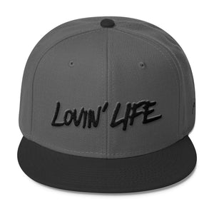 LL blac 3D-Puff embroidered Snapback