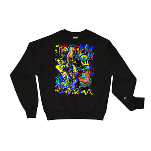 Lovin' Life X Champion Sweatshirt - SPAGE AGE COLLECTION