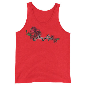 Lovin' Life Rosey Red bl - Tank Top