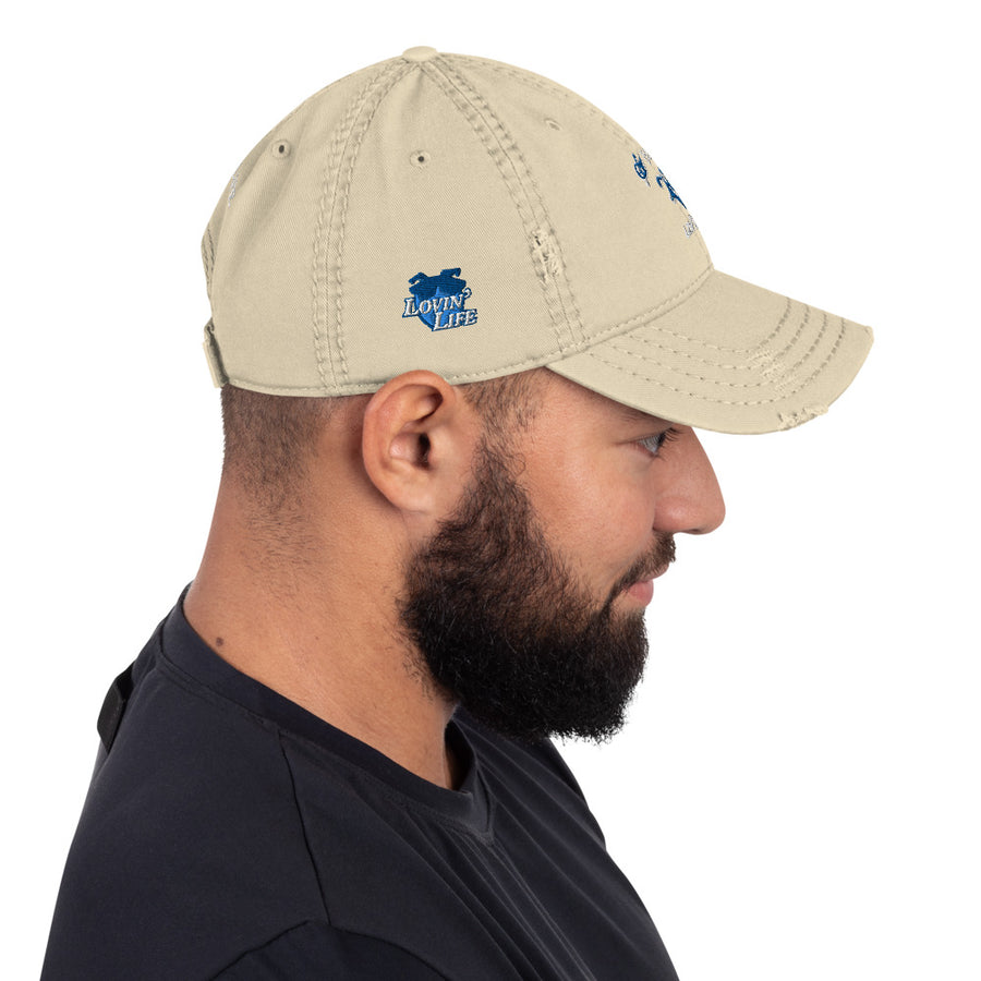 Lovin' Life Boo!!! Distressed Dad Hat