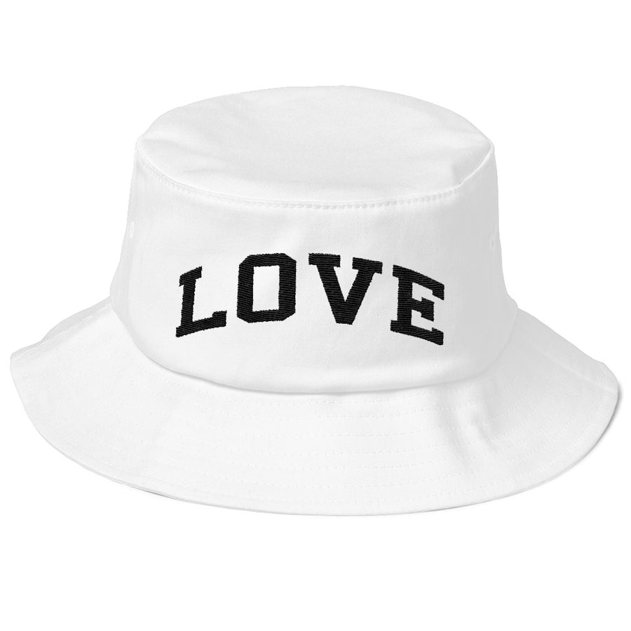 LOVE Old School Bucket Hat