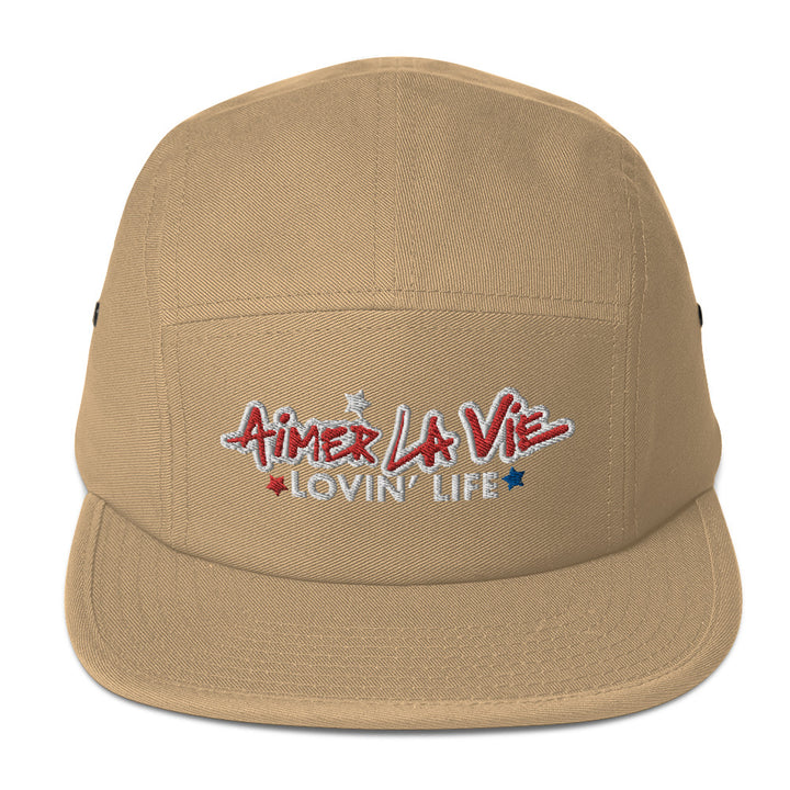 AIMER LA VIE - LOVIN' LIFE - Five Panel Cap