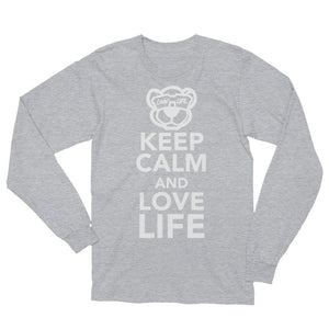 Keep calm and love life Long Sleeve T-Shirt