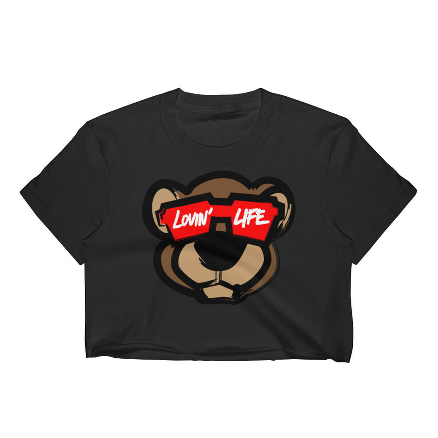 Ladies Leo cub Crop Top
