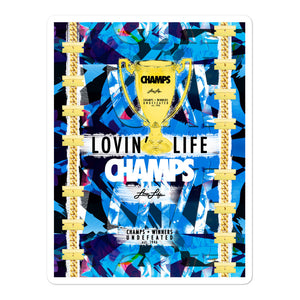 LOVIN' LIFE MEMBERS ONLY - CHAMPS RAZORS & CUBAN LINXS 00 stickers