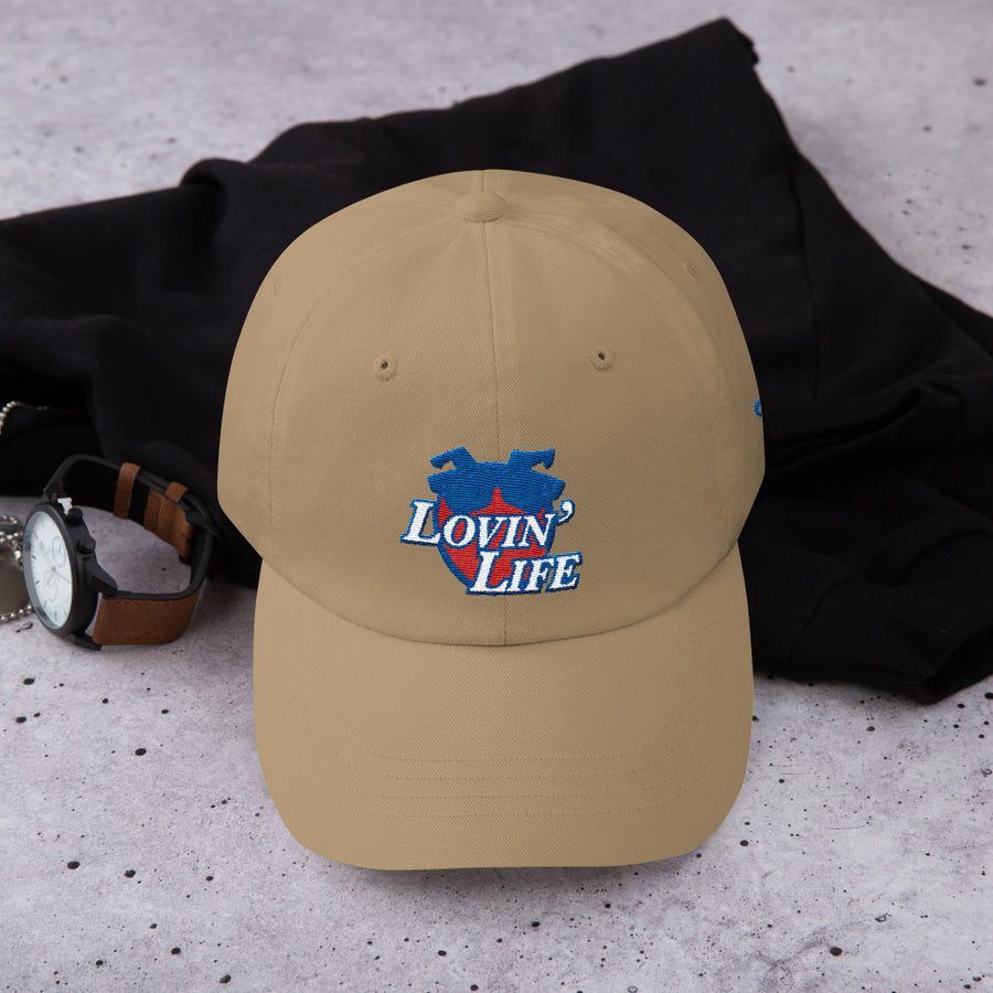 LOVIN' LIFE - all smiles flamingo -  Dad hat