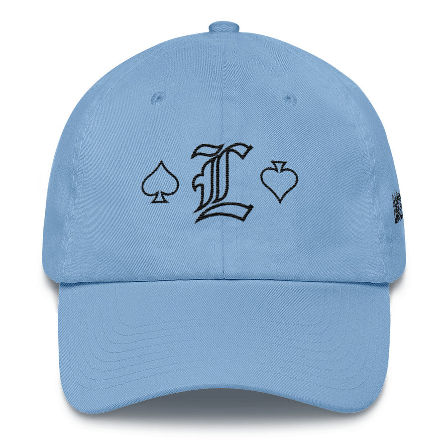 LOVE of spade w DAD hat