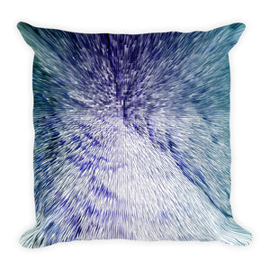 "Digital Fusion 1 Square Pillow 18""x18"""