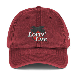 LOVIN' LIFE - all smiles - Vintage Cotton Twill DAD HAT