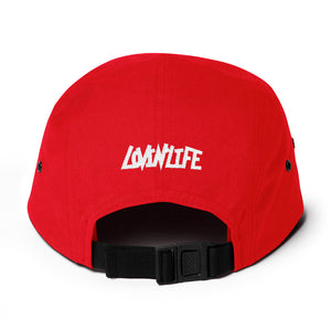 Lovin' Life - SELF LOVE - red heart/white Five Panel Cap