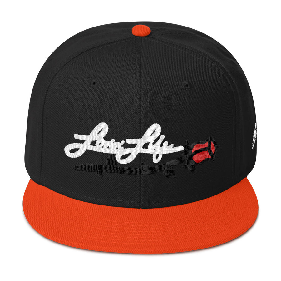 Lovin' Life Rosey red/w Snapback Hat