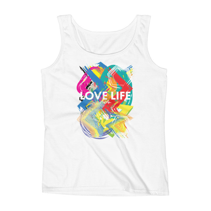 Ladies Love Life artsy Tank