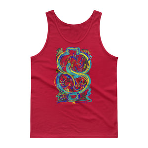 LOVIN' LIFE - BAG RUN 4 - SPACE COLLECTION Tank top