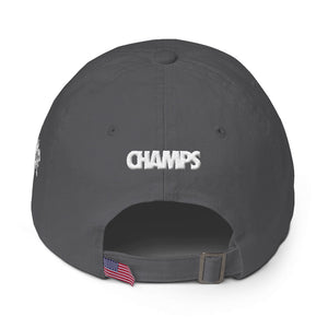 Lovin' Life Members Only - CHAMPS 3D puff DAD hat